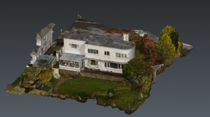 Combining LiDAR and drone point clouds